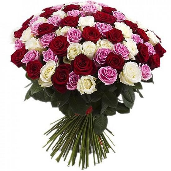 Букет из роз №1